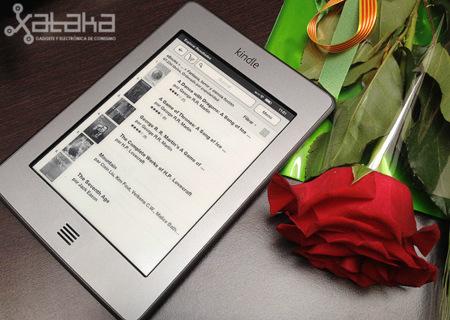 Amazon Kindle Touch. Toma de contacto