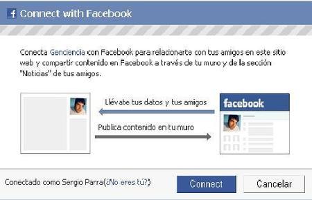 Conéctate a Genciencia con tu cuenta de Facebook