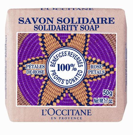 Jabon solidario Occitane