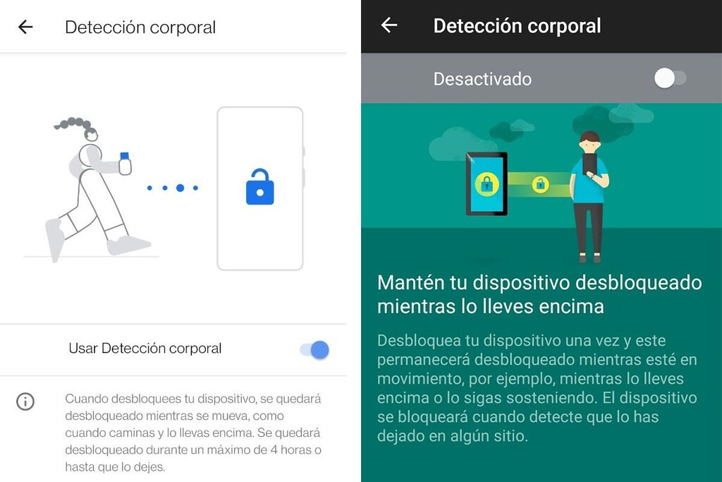 Smart Lock, el desbloqueo inteligente de Android, renueva su interfaz por 1.ª vez desde 2015