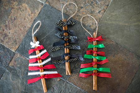 Manualidades Navidad Arbolito Canela