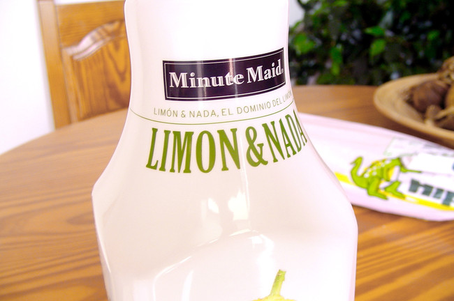 Agua mineral sabor