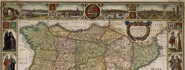 17 preciosos mapas antiguos de España con los que viajar atrás en el tiempo