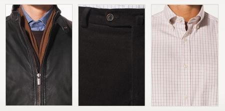 Camisa, cazadora y pantalón en Lookbook Otoño Massimo Dutti 2012
