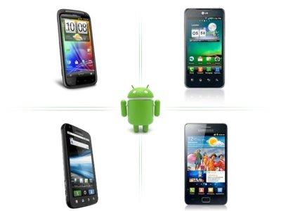 Comparamos los cuatro teléfonos Android con doble núcleo, ¿con cuál os quedáis?