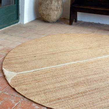 Calma es la colección de alfombras más naturales y bonitas de la diseñadora Helena Rohner para Dac Rugs