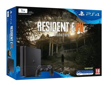 Pack PlayStation 4 de 1TB + Resident Evil VII con 55 euros de descuento