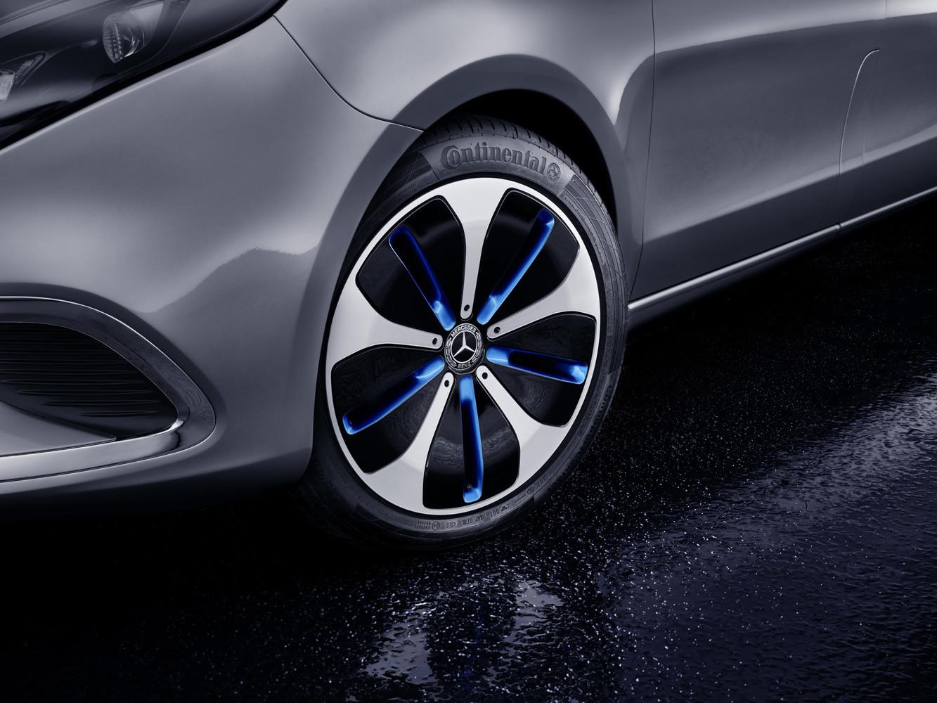 Foto de Mercedes-Benz Concept EQV (9/14)