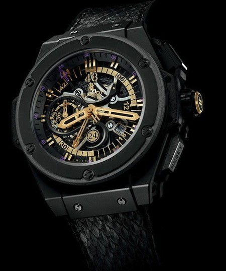 Hublot presenta una nueva edición limitada, su King Power Black Mamba