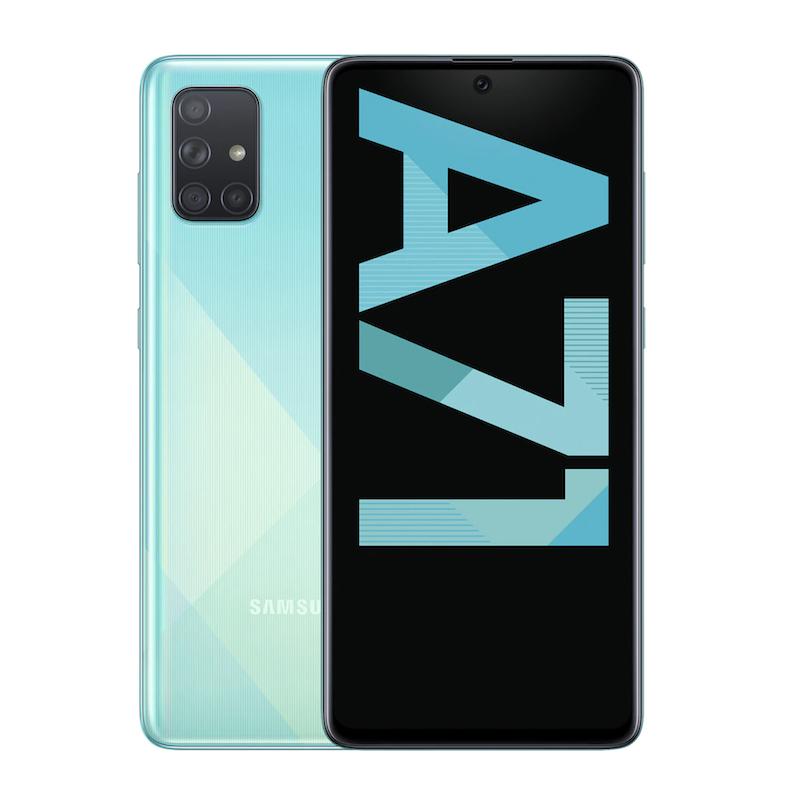 Samsung Galaxy A71 6+128GB Azul móvil libre