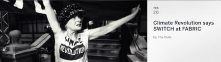 Vivienne Westwood, la anfitriona ideal de una fiesta exclusiva que puede contribuir a cambiar el mundo