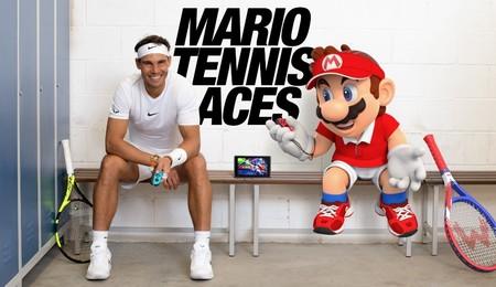 Mario y Rafa Nadal se enfrentan en un emocionante partido en el nuevo tráiler de Mario Tennis Aces