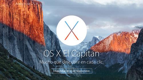 Por si lo habías olvidado, mañana podrás actualizar gratuitamente a OS X El Capitan