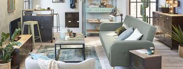 Siete sofás cama de Maisons du Monde para renovar el salón y ganar espacio al mismo tiempo