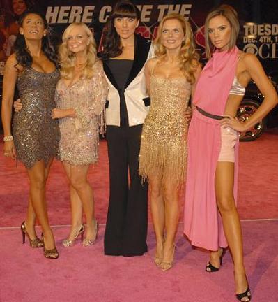 Geri Halliwell de Roberto Cavalli en el desfile de Victoria's Secret