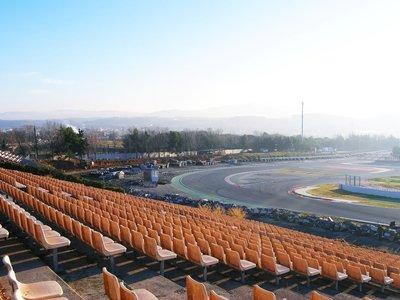 El Circuit de Barcelona-Catalunya ya está recuperando su trazado original, y reasfaltado completo