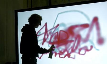 'WiiSpray Graffiti', la aplicación más molona hecha con el WiiMando
