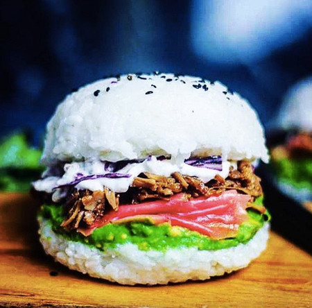 Hamburguesas de sushi: el clásico americano como nunca lo imaginaste