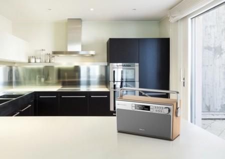 La radio para la cocina de Philips no es resistente, es retro