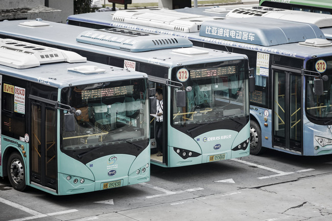 Electric Public Buses China