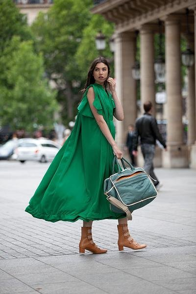 Chloé Resort 2012: descubierta chica chic paseando por París