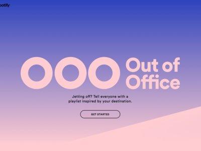 Spotify Ouf of Office: ponle música a tu respuesta automática de email este verano