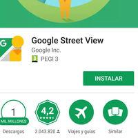 Street View llega a los mil millones de descargas, aunque ya no es imprescindible