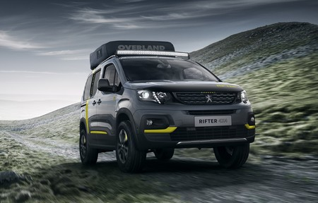Peugeot Rifter 4x4 Concept Un Todoterreno Equipado Con Tienda De