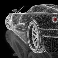 La fibra de carbono puede almacenar energía en el cuerpo de un coche