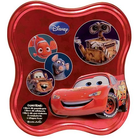 Caja metalica Pixar