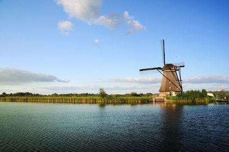 Cómo funcionan los molinos holandeses