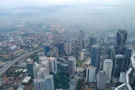 Visitando Malasia vista desde Torres Petronas