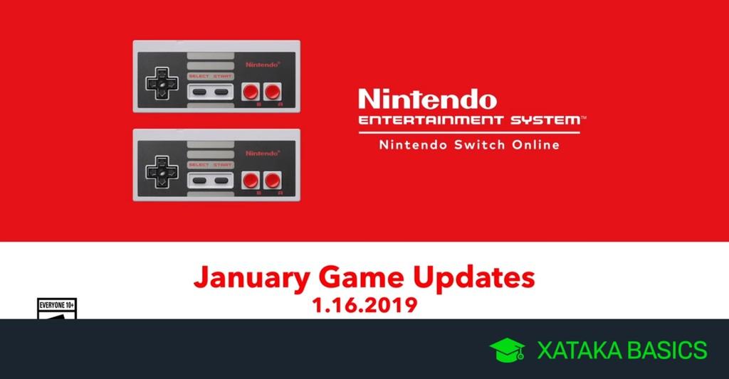 Juegos de NES para Nintendo Switch que llegan a Nintendo Switch Onlinede en enero de 2019