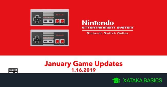 Juegos de NES para Nintendo Switch que llegan a Nintendo Switch Online de en enero de 2019