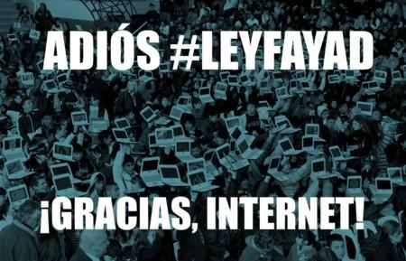 La #LeyFayad ha muerto, el senador confirma que retirará la iniciativa