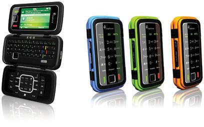 IcePhone, teléfono en tres partes