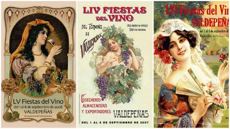carteles fiestas del vino valdepeñas