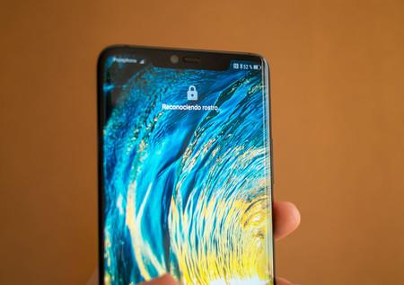El Huawei Mate 20 Pro se actualiza con mejoras en el desbloqueo facial y mayor velocidad en el lector de huellas