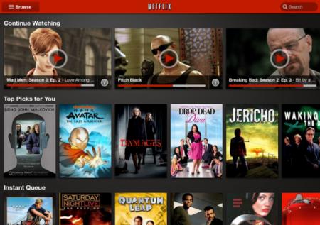 Netflix rediseña su aplicación para Android