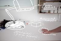 La lámpara de realidad aumentada que propone Google