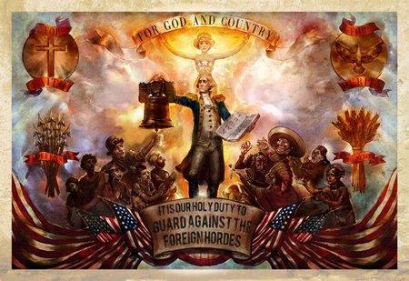 'BioShock Infinite', la genial y despiadada propaganda en Columbia