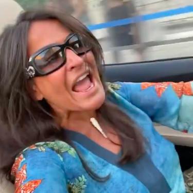 Precaución, madrileños: Aída Nízar está al volante