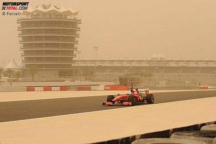Otra jornada de test perdida en Bahrein