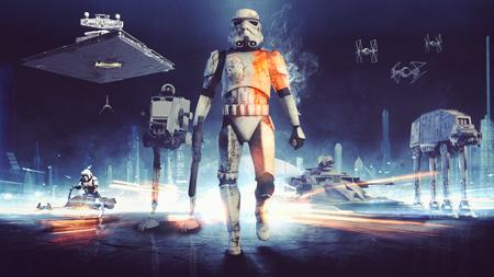 Mucho más grande y con campaña para un solo jugador, eso es lo que prometa EA para el próximo Star Wars Battlefront