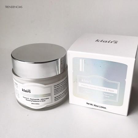 Probamos la mascarilla Freshly Juiced Vitamin E Mask de Klairs, un motivo más por el que adorar la cosmética coreana