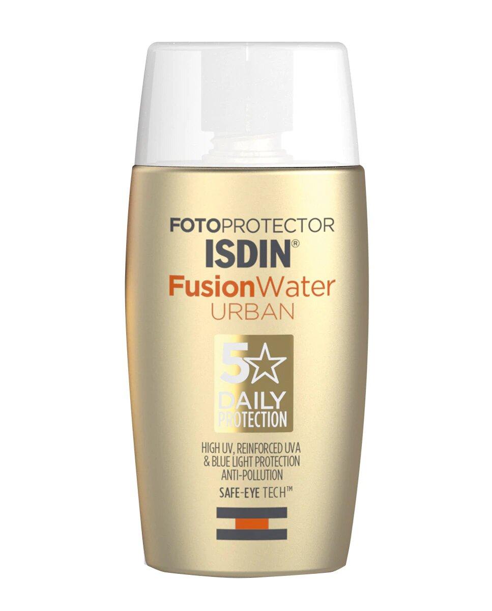 Fotoprotector solar Fusion Water Urban SPF30 de Isdin