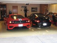 Barbacoa de Ferrari 360 Challenge Stradale y Porsche 911 GT3 RS al estilo californiano