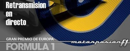 GP de Europa F1 2011: retransmisión LIVE