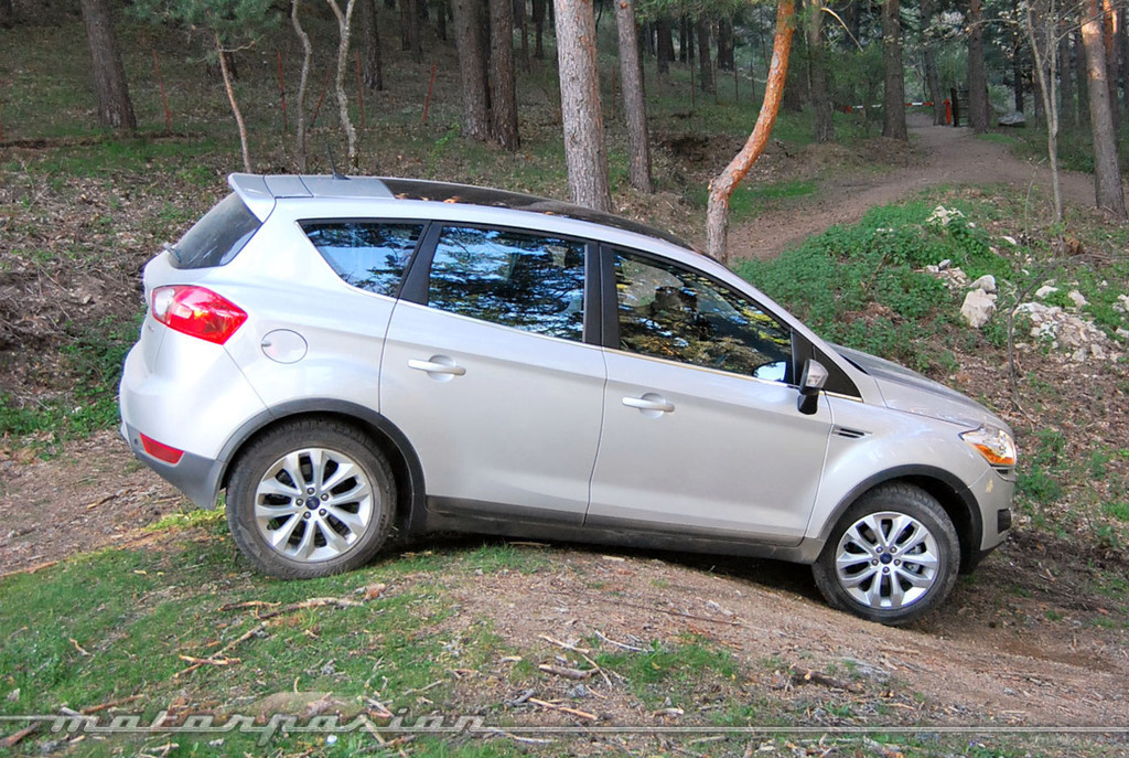 Ford Kuga (prueba)