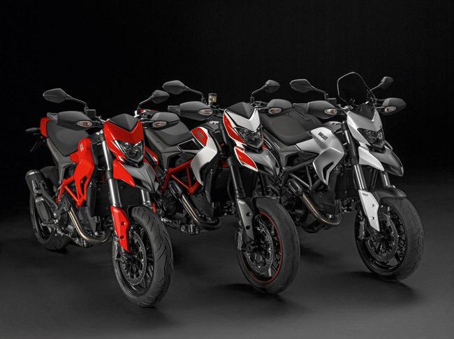 Gama Ducati Hypermotard e Hyperstrada 2013